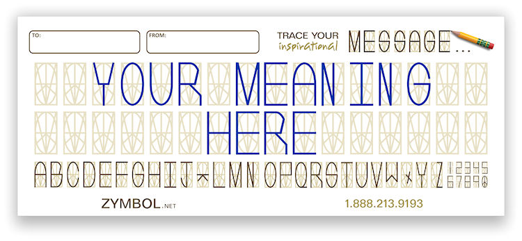 Your Meaning Here Card